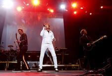 Banda britânica Duran Duran durante festival em Barcelona.  20/6/2015. REUTERS/Gustau Nacarino