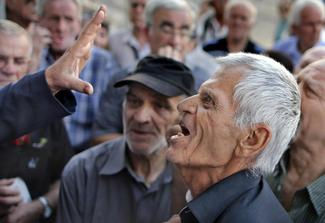 Greece's struggling pensioners