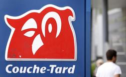 A Couche-Tard sign is pictured in Quebec City June 9, 2010. REUTERS/Mathieu Belanger