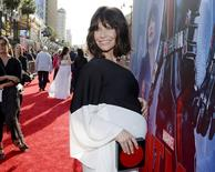 "Cast member Evangeline Lilly poses at the premiere of Marvel's ""Ant-Man"" in Hollywood, California June 29, 2015. REUTERS/Kevork Djansezian"