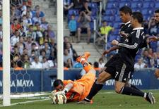 Goleiro Kike Casilla, que trocou o Espanyol pelo Real Madrid. 17/05/2015 REUTERS/Gustau Nacarino