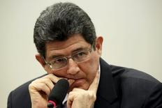 Ministro da Fazenda, Joaquim Levy, durante evento na Câmara dos Deputados, em Brasília.  15/07/2015  REUTERS/Ueslei Marcelino