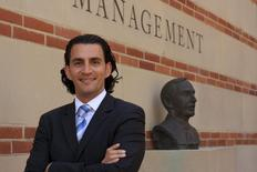 Iranian-American Mahmoud Reza Banki is shown at UCLA Anderson School of Management where he earned an MBA in Los Angeles, California in this 2013 handout photo. REUTERS/John Mar/Handout via Reuters