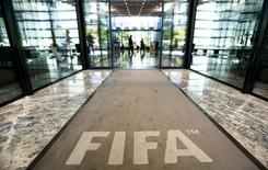 Hall de entrada da sede da Fifa em Zurique. 20/07/2015 REUTERS/Arnd Wiegmann