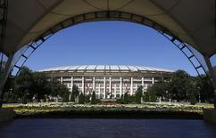 Estádio Luzhniki, em Moscou.   14/07/2014  REUTERS/Sergei Karpukhin