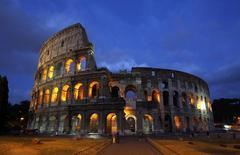 O Coliseu, em Roma. 05/08/2010 REUTERS/Tony Gentile