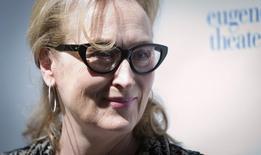 Atriz Meryl Streep em Nova York. 21/04/2015 REUTERS/Carlo Allegri