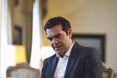 Greek Prime Minister Alexis Tsipras   in Athens, Greece July 24, 2015.   REUTERS/Ronen Zvulun