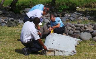 Suspected MH370 debris found
