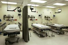 Hospital beds in a file photo. REUTERS/File