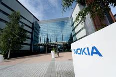 Штаб-квартира Nokia. Фотография сделана 28 июля 2015 года. REUTERS/Mikko Stig