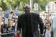Former basketball great Michael Jordan arrives to attend a party celebrating the 30th anniversary of the Air Jordan shoe line in Paris, France June 12, 2015. REUTERS/Gonzalo Fuentes
