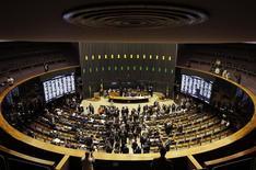 Vista general de la Cámara de Diputados de Brasil, en Brasilia, 3 de diciembre de 2014. El Senado de Brasil pospuso hasta el miércoles la votación de un proyecto de ley que revierte las exenciones tributarias a las nóminas de pago, una medida clave del plan de austeridad del Gobierno de la presidenta Dilma Rousseff para reducir un creciente déficit fiscal. REUTERS/Ueslei Marcelino