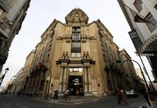 El edificio de la Bolsa de Valores de Lima, nov 10 2014. REUTERS/ Mariana Bazo