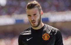 Goleiro do Manchester United David De Gea. 28/072015 Action Images via Reuters / Mark Avery