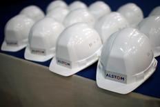 Alstom, à suivre à la Bourse de Paris. Berenberg entame la couverture du titre avec le conseil de conserver et un objectif de cours de 29,0 euros. /Photo d'archives/REUTERS/Stéphane Mahé
