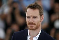 "Cast member Michael Fassbender poses during a photocall for the film ""Macbeth"" in competition at the 68th Cannes Film Festival in Cannes, southern France, May 23, 2015.  REUTERS/Benoit Tessier"