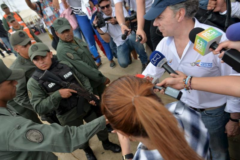 Nearly half of Colombians fear Venezuela war over border crisis: poll