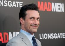 "Cast member Jon Hamm attends the ""Mad Men: Live Read & Series Finale"" held in Los Angeles May 17, 2015. REUTERS/Phil McCarten"