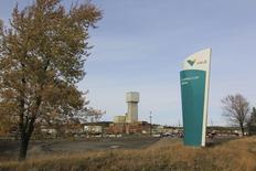 Un cartel de Vale, en su sede en Ontario, Canadá, 16 de octubre de 2012.  La autoridad ambiental de Canadá allanó el jueves una de las oficinas de la minera brasileña Vale SA en Sudbury, Ontario, en el marco de una investigación sobre presuntas violaciones a la Ley de Pesca del país en 2012, informó el viernes la firma. REUTERS/Julie Gordon