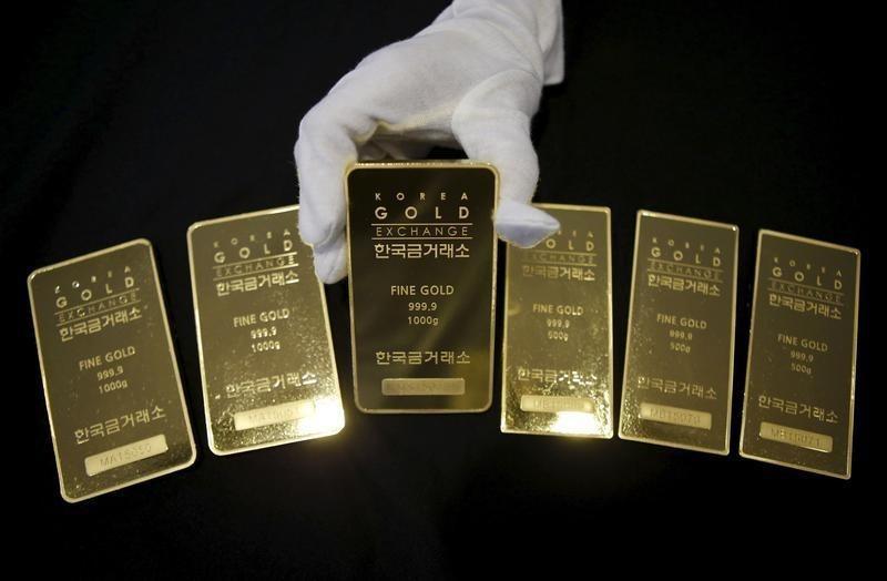 الذهب يهبط من أعلى مستوى في 3 أشهر بفعل مبيعات لجني الارباح