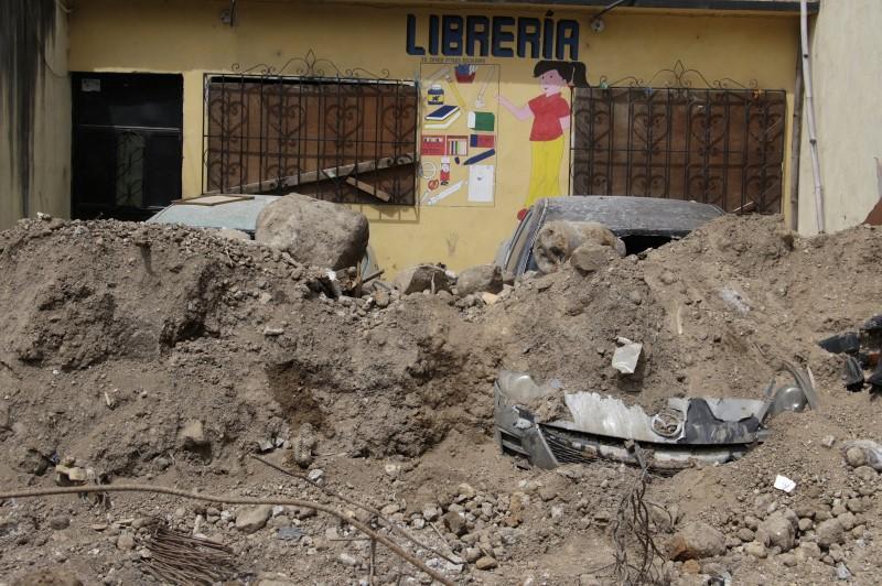 توقف البحث عن ضحايا في الانهيار الارضي في جواتيما مع وصول عدد القتلى الى 280