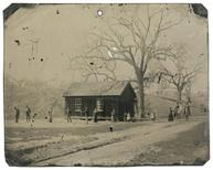 A newly discovered 4-by-5-inch tintype photograph featuring legendary Wild West gunslinger Billy the Kid (4th L) playing croquet with accomplices from his New Mexico gang known as the Regulators, is seen in this image provided by www.kagins.com.  REUTERS/www.kagins.com/Handout via Reuters  A