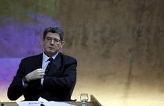 Ministro da Fazenda, Joaquim Levy, durante evento no Rio de Janeiro. 05/10/2015 REUTERS/Pilar Olivares