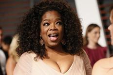 Oprah Winfrey em festa do Oscar em 2015, em Beverly Hills. 22/02/2015 REUTERS/Danny Moloshok
