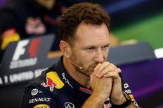 Formula One - F1 - United States Grand Prix 2015 - Circuit of the Americas, Austin, Texas, United States of America - 23/10/15 Red Bull Team Principal Christian Horner during a press conference Mandatory Credit: Action Images / Hoch Zwei Livepic