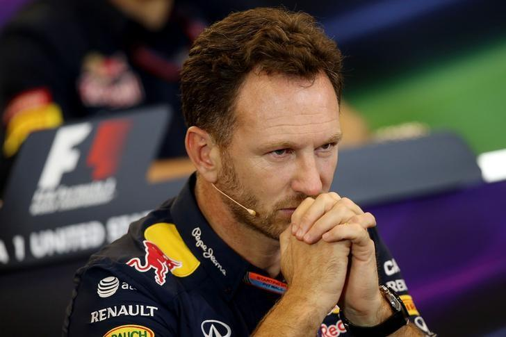 Formula One - F1 - United States Grand Prix 2015 - Circuit of the Americas, Austin, Texas, United States of America - 23/10/15Red Bull Team Principal Christian Horner during a press conferenceMandatory Credit: Action Images / Hoch ZweiLivepic