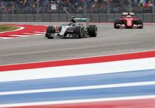 Formula One - F1 - United States Grand Prix 2015 - Circuit of the Americas, Austin, Texas, United States of America - 25/10/15 Mercedes' Nico Rosberg Mandatory Credit: Action Images / Hoch Zwei