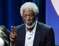 Ator e produtor executivo Morgan Freeman durante evento da CBS em Beverly Hills, nos Estados Unidos, no ano passado. 17/07/2014 REUTERS/Kevork Djansezian