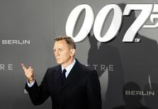 Ator Daniel Craig em lançamento do novo filme de James Bond em Berlim. 28/10/2015.  REUTERS/Fabrizio Bensch