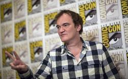Diretor Quentin Tarantino posa para fotos na Comic-Con de 2015, em San Diego. 11/07/2015 REUTERS/Mario Anzuoni