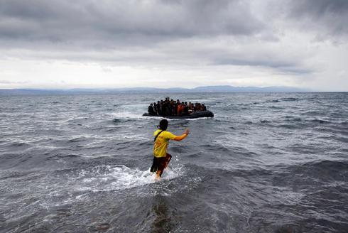 Record wave of migrants
