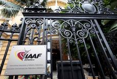 A view shows the IAAF (The International Association of Athletics Federations) headquarters in Monaco November 4, 2015.  REUTERS/Eric Gaillard