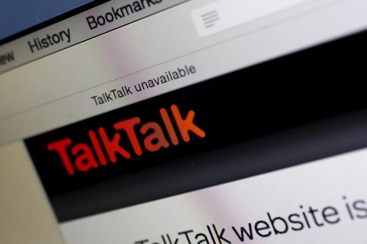 A computer screen shows details of TalkTalk's login page on its web site in London, Britain, October 26, 2015. REUTERS/Stefan Wermuth
