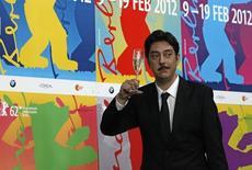 Diretor português Miguel Gomes no festival de Berlim. 18/2/2012 REUTERS/Tobias Schwarz
