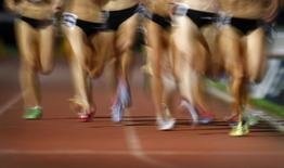Competitors race in the women's 800 metres during the Sydney Track Classic in this file photo dated February 18, 2012. REUTERS/Tim Wimborne