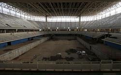 Imagem do centro aquático para os Jogos Olímpicos do Rio em 2016. 06/10/2015. REUTERS/Sergio Moraes