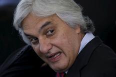 Senador Delcídio Amaral (PT-MS) em Brasília. 17/09/2015 REUTERS / Ueslei Marcelino