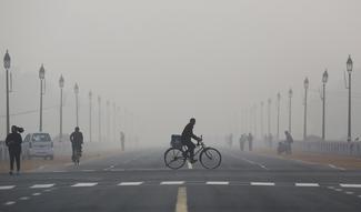 Smoggy days in Delhi