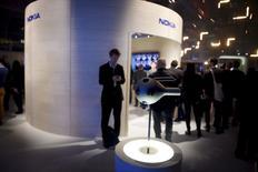 Камера виртуальной реальности Nokia Ozo на мероприятии Slush 2015 в Хельсинки. 11 ноября 2015 года. Nokia сообщила во вторник, что цена на камеру виртуальной реальности составит $60.000, а поставки начнутся в первом квартале следующего года. REUTERS/Antti Aimo-Koivisto/Lehtikuva