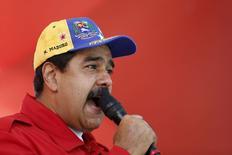 Presidente da Venezuela, Nicolás Maduro, em Caracas. 01/12/2015 REUTERS/Carlos Garcia Rawlins