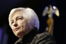 U.S. Federal Reserve Chair Janet Yellen addresses the Economic Club of Washington in Washington December 2, 2015. REUTERS/Joshua Roberts