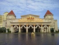 An exterior view shows the Crown International Games Club at Danang in central Vietnam November 28, 2015.  REUTERS/Farah Master