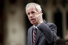 Canada's Foreign Minister Stephane Dion speaks during Question Period in the House of Commons on Parliament Hill in Ottawa, Canada December 7, 2015. REUTERS/Chris Wattie