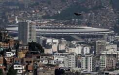 Vista do estádio do Maracanã no Rio de Janeiro.  19/11/2015.   REUTERS/Sergio Moraes