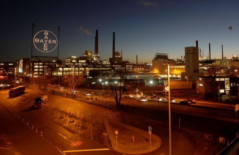The Bayer plant is seen in Leverkusen January 30, 2013. Picture taken January 30. REUTERS/Ina Fassbender